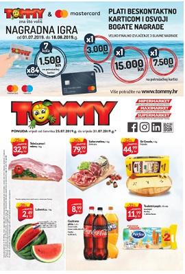 Tommy katalog do 31.7.