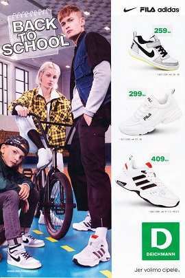Deichmann katalog Back to school