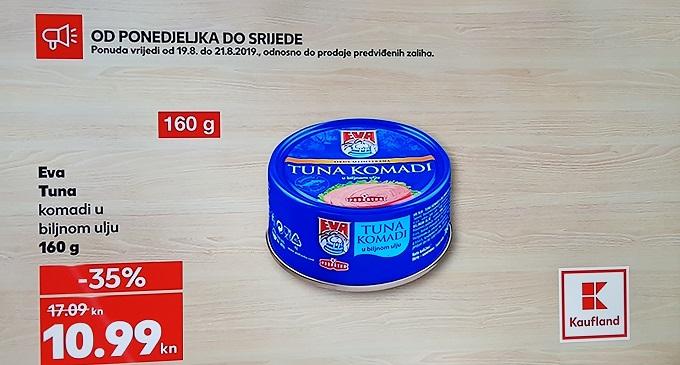 Kaufland akcija tuna
