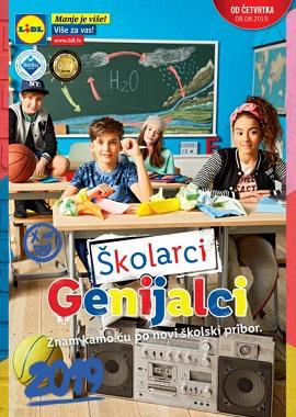 Lidl katalog Škola