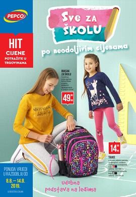 Pepco katalog Sve za školu