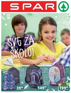 Spar katalog Škola
