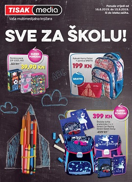 Tisak media katalog škola