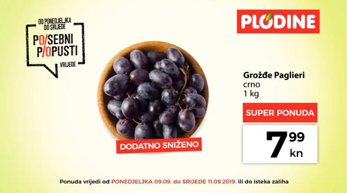 grožđe Plodine