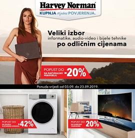 Harvey Norman katalog rujan