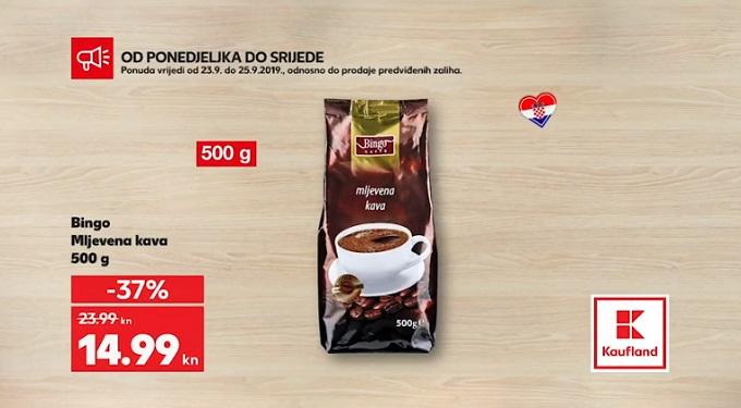Kaufland akcija kava