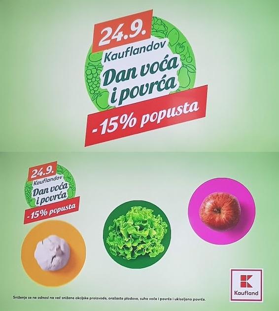 Kaufland akcija voće i povrće