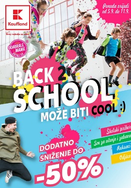 Kaufland katalog Back to school