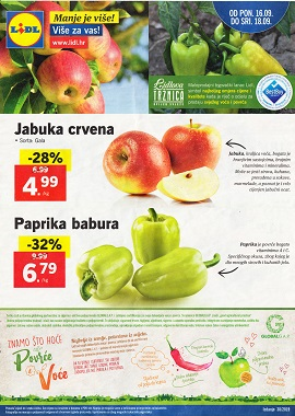 Lidl katalog tržnica do 18.9.