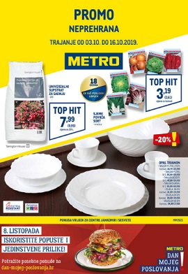 Metro katalog neprehrana