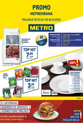 Metro katalog Osijek Varaždin
