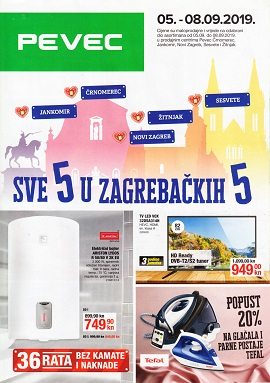 Pevec katalog Zagreb