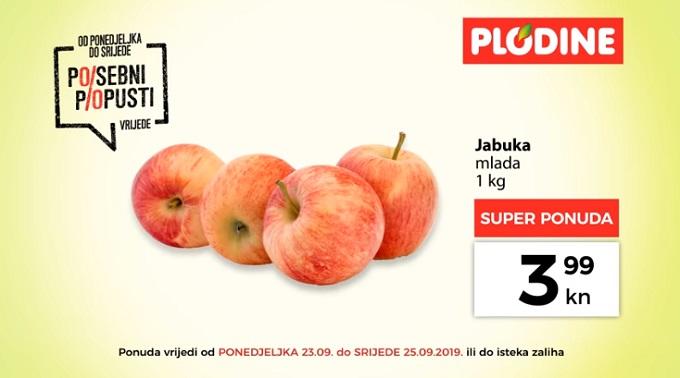 Plodine akcija jabuka