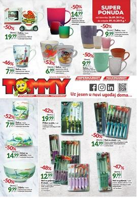 Tommy katalog domaćinstvo do 9.10.