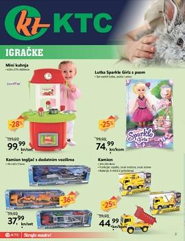 KTC katalog igračke i odjeća