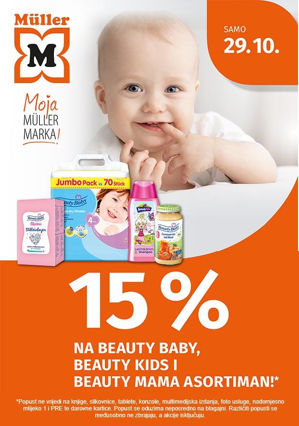 Muller akcija bebe