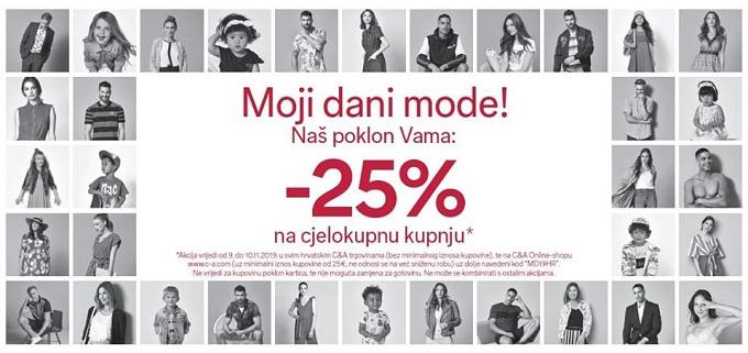 C&A popust Dani mode