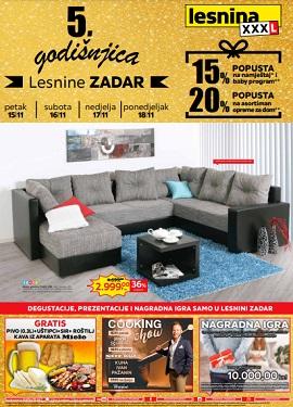 Lesnina katalog Zadar godišnjica