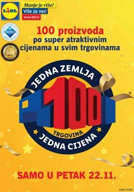 Lidl katalog 100 proizvoda