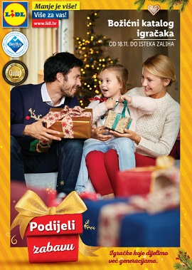 Lidl katalog Igračke Božić