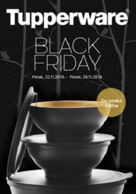 Tupperware katalog Black Friday
