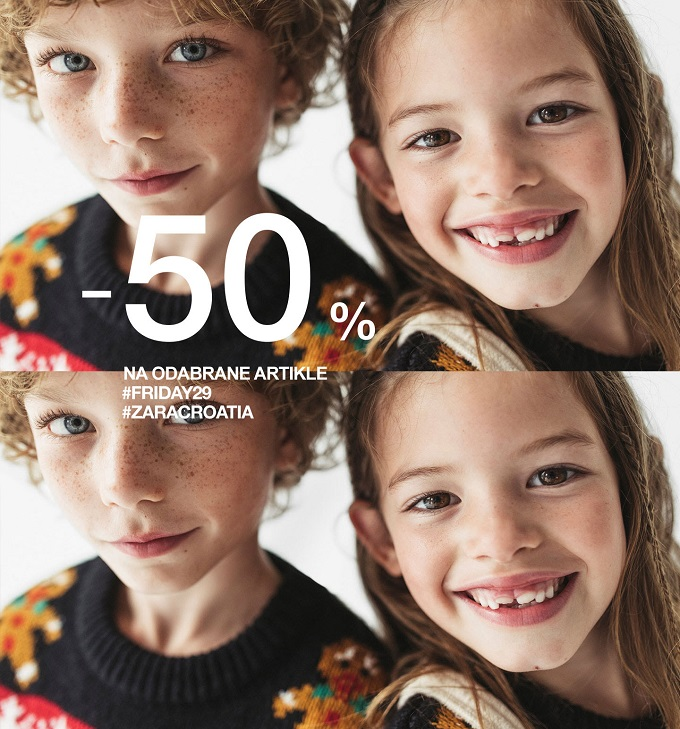 Zara Black Friday kids