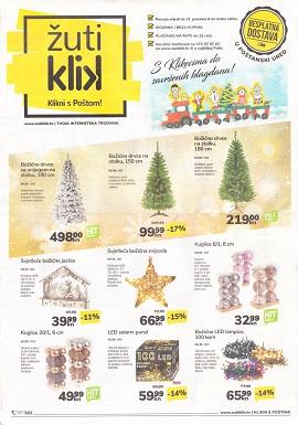 Žuti klik katalog Božić