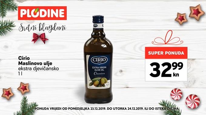 Plodine akcija maslinovo ulje