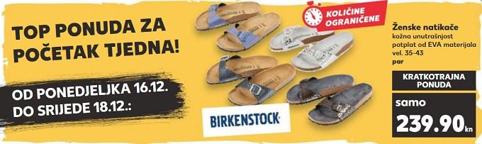 Kaufland akcija Birkenstock