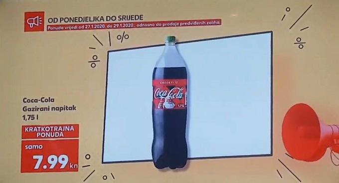 Kaufland akcija Coca Cola