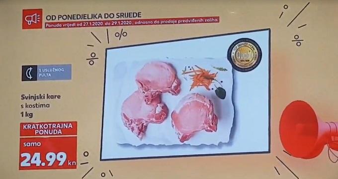 Kaufland akcija svinjski kare
