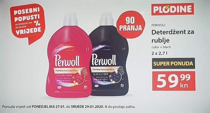 Plodine akcija Perwoll
