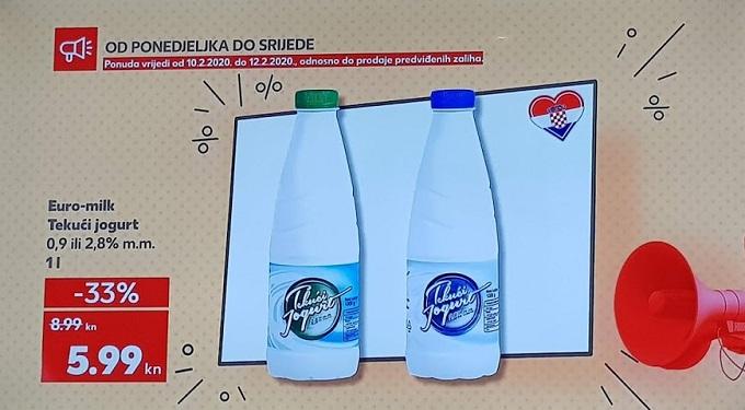 Kaufland akcija jogurt