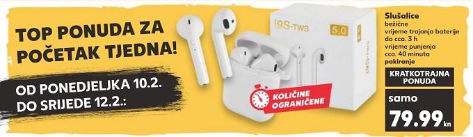 Kaufland akcija slušalice