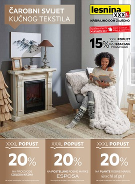 Lesnina katalog Kućni tekstil