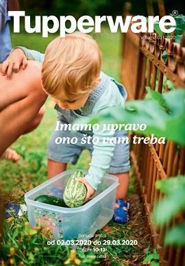Tupperware katalog ožujak