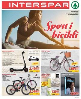 Interspar katalog Sport i bicikli