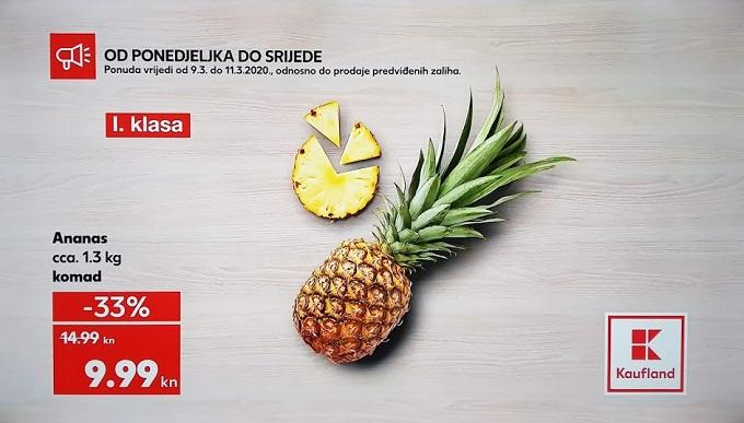 Kafland akcija ananas