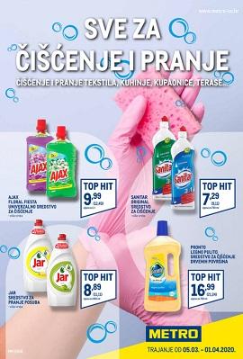 Metro katalog Sve za čišćenje i pranje