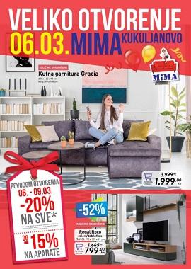 Mima namještaj katalog Kukuljanovo
