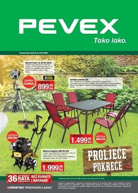Pevex katalog Proljeće