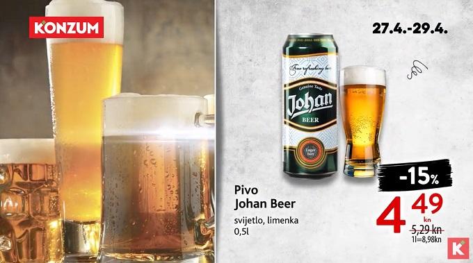 Konzum akcija pivo