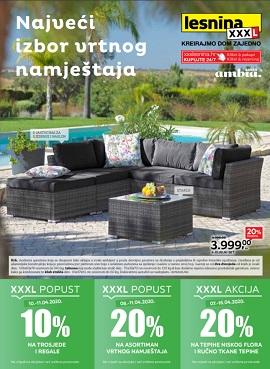 Lesnina katalog Vrtni namještaj Web shop