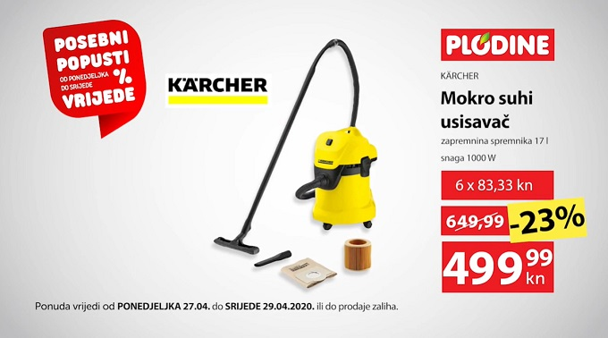 Plodine akcija Karcher