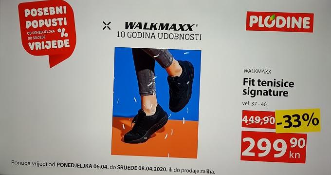 Plodine akcija Walkmaxx