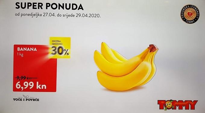 Tommy akcija banane