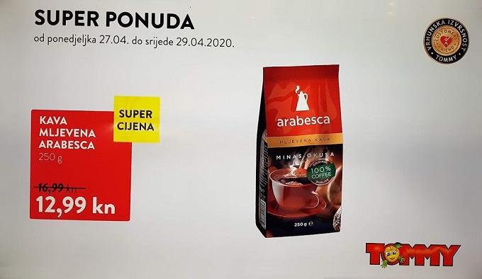 Tommy akcija kava