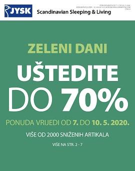 JYSK katalog Zeleni dani