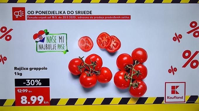Kaufland akcija rajčica grappolo