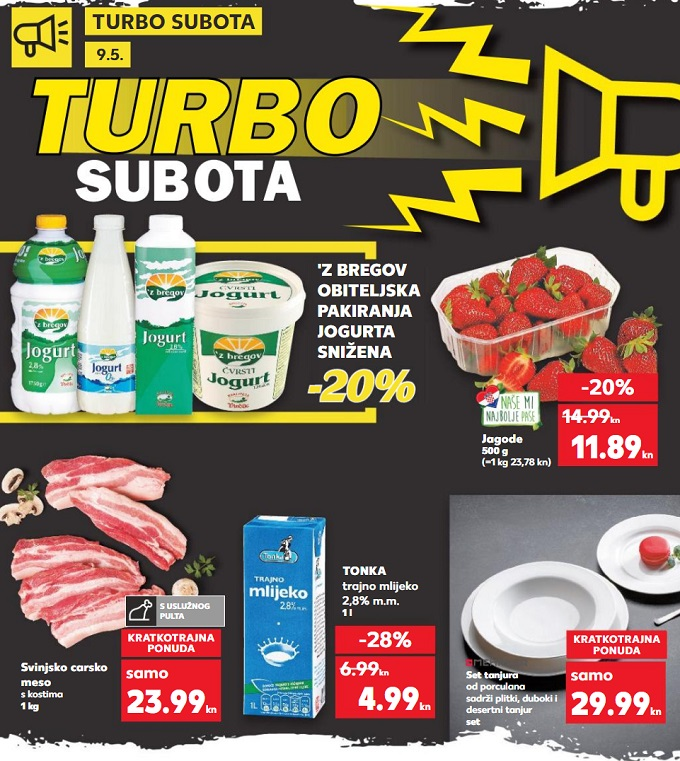 Kaufland turbo subota